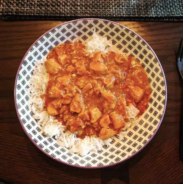 Budder Chicken & Basmati Rice