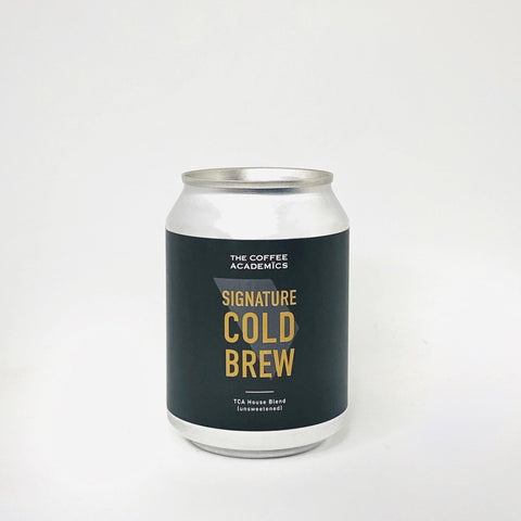 Signature Cold Brew Coffee (Unsweetened) - The Coffee Academics