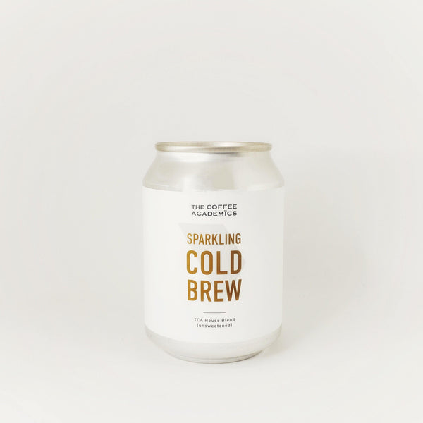 Sparkling Cold Brew Coffee (Unsweetened) - The Coffee Academics
