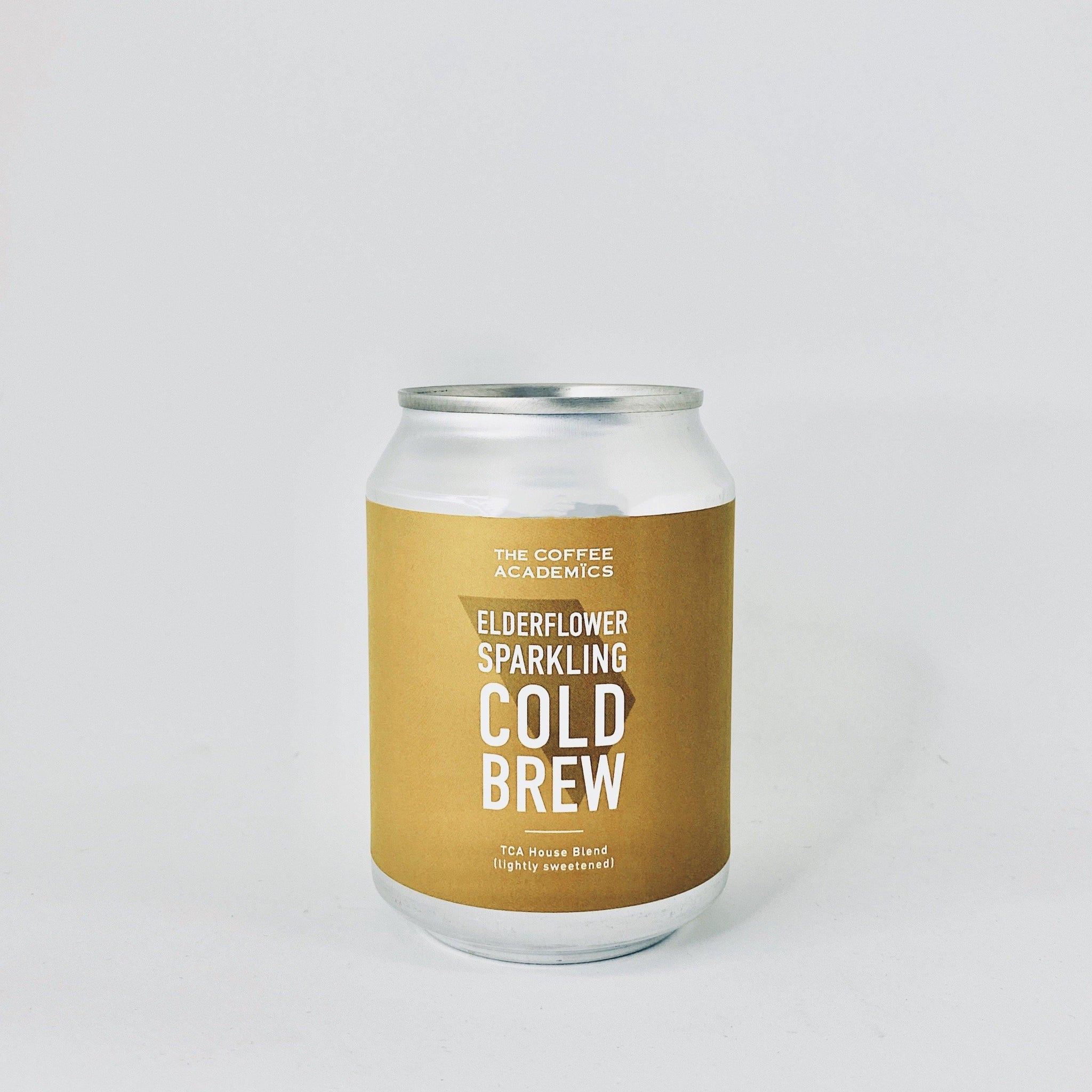 Elderflower Sparkling Cold Brew Coffee (Lightly sweetened)