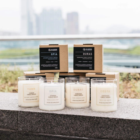 BeCandle x TCA Soy Candles - The Coffee Academics
