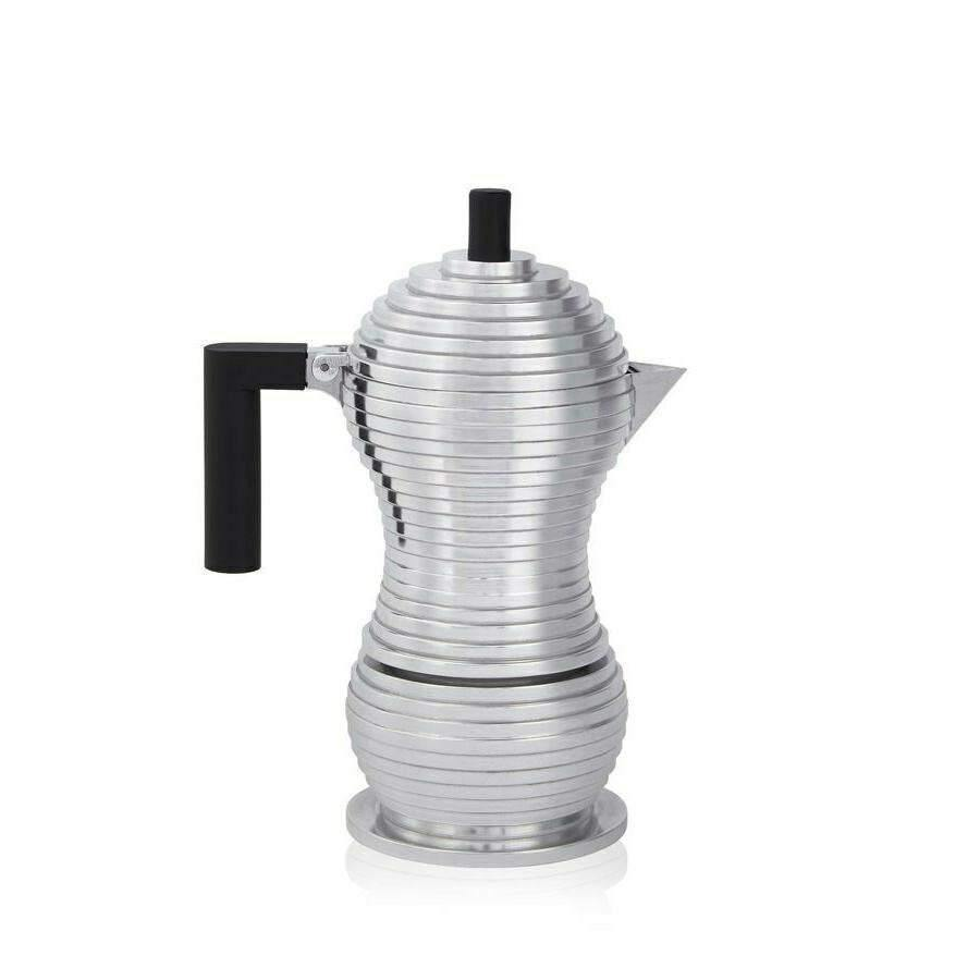 Alessi Pulcina Stove Top Espresso Coffee Maker  3Cups