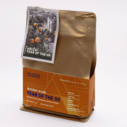Year of the Ox Seasonal Blend Coffee Bean (200g)