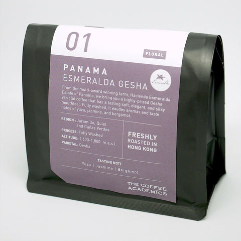 01 Panama Esmeralda Gesha Roasted Bean Washed 200g