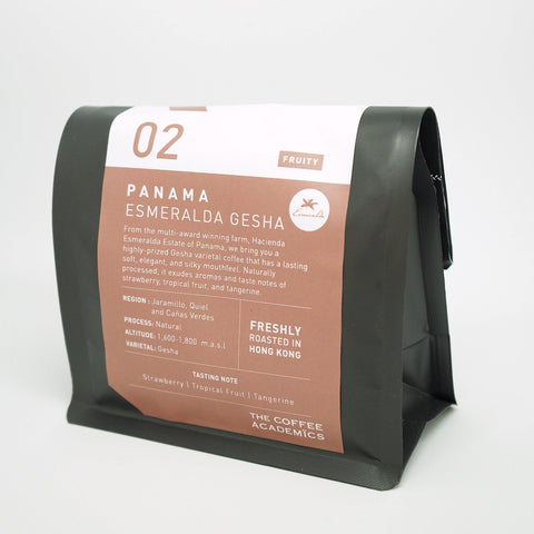 02 Panama Esmeralda Gesha Natural Roasted Bean (200g)