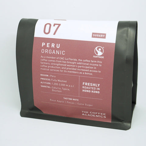 07 Peru Organic Roasted Bean (200g)