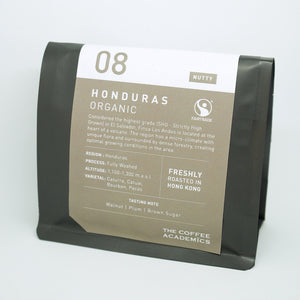 08 Honduras Fairtrade & Organic Roasted Bean (200g) - The Coffee Academics