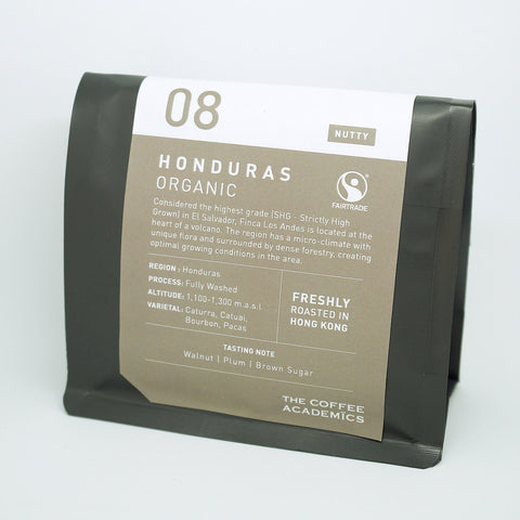 08 Honduras Fairtrade & Organic Roasted Bean 200g (Almost Out Of Stock)