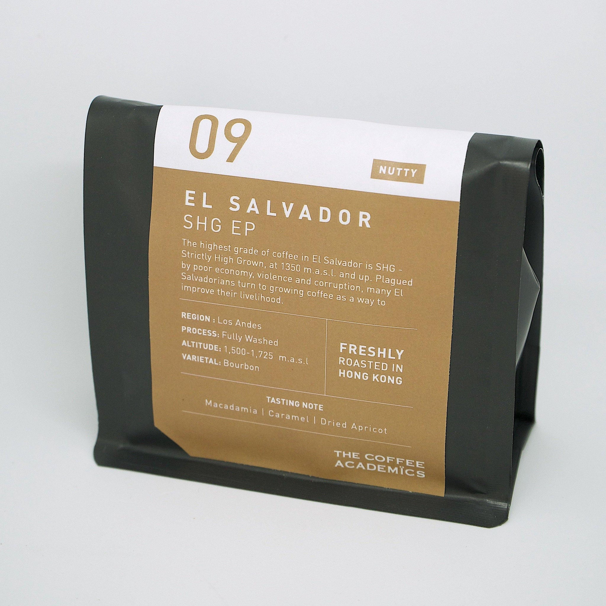 09 El Salvador SHG EP Roasted Bean 200g