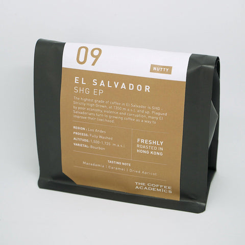 09 El Salvador SHG EP Roasted Bean (200g)