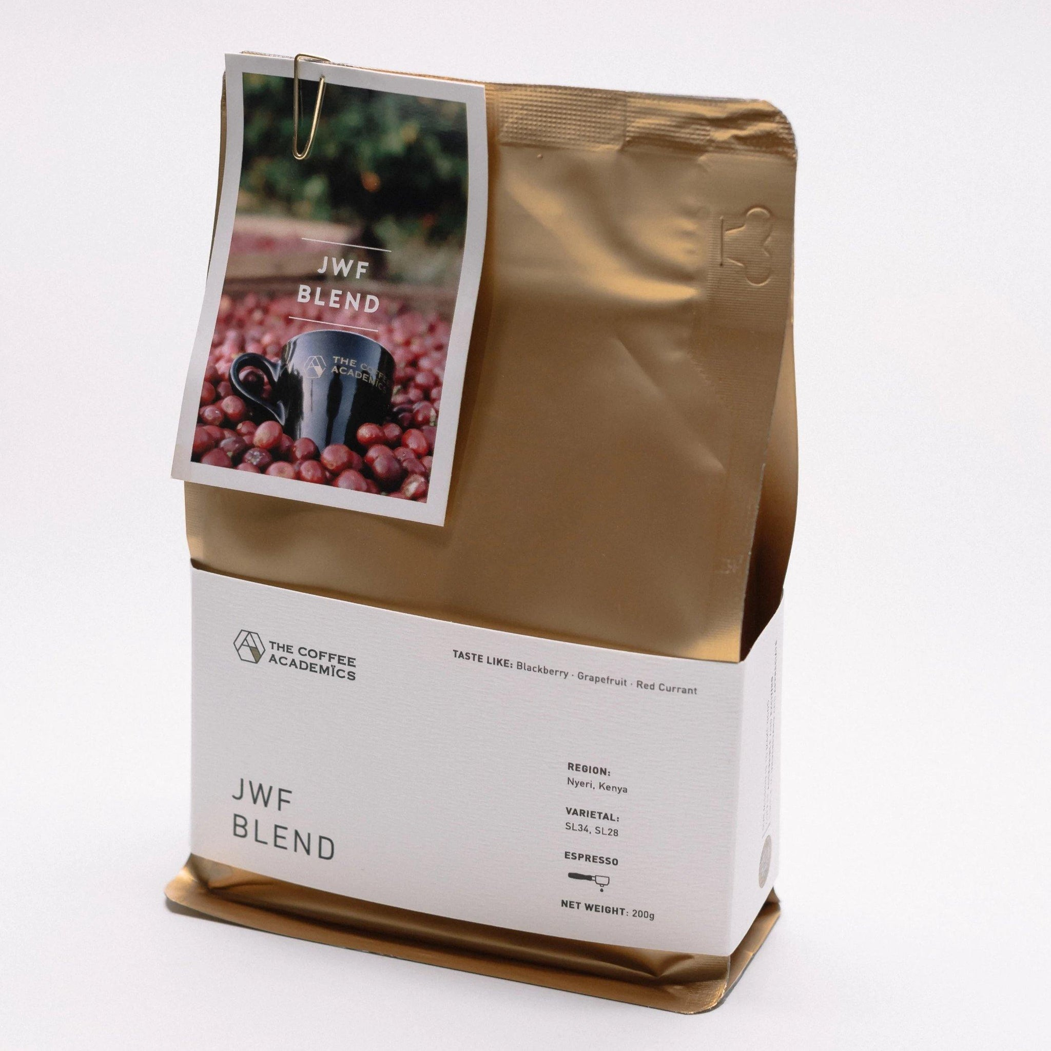 JWF Blend Roasted Bean (200g) - The Coffee Academics