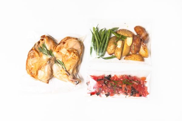 Herb-Roasted Chicken Tapenade for Two 橄欖醬香草烤雞(二人份)[Daily Limited]