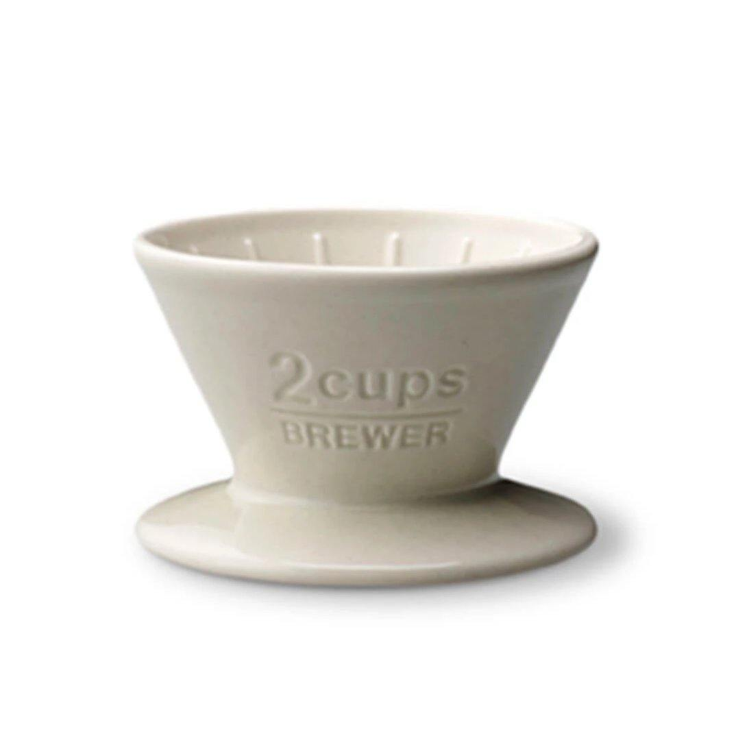 Kinto 2-Cup Ceramic Dripper