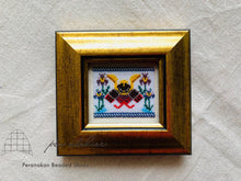 Load image into Gallery viewer, プラナカンビーズ刺繍額付きキット(五月の節句) Peranakan Beading Kit (boys day)