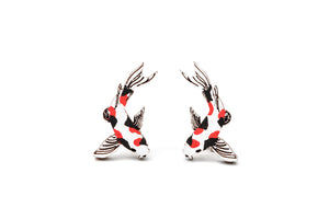 Koi Carp Earrings - Lolamohe