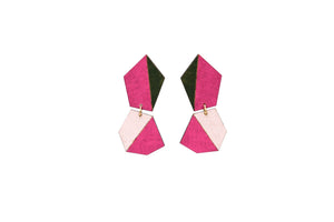 Unequal earrings - Lolamohe