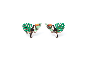 Toucan Earrings - Lolamohe