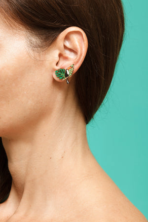 Earrings Toucan - Lolamohe