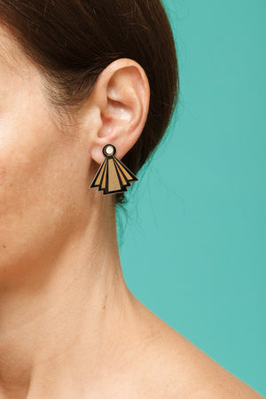 Art Deco earrings - Lolamohe