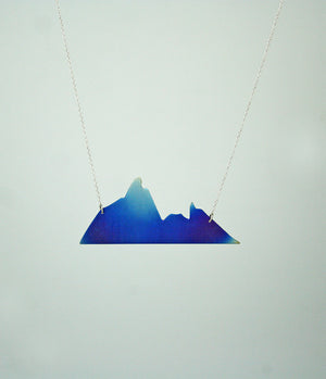 Blue Mountain Pendant-Lolamohe
