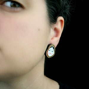 Okame Earrings - Lolamohe