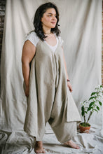 Load image into Gallery viewer, Breezy Jumpsuit - cotton-linen