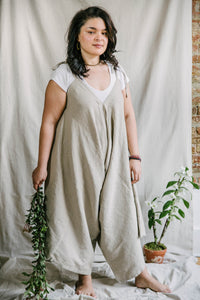 Breezy Jumpsuit - cotton-linen