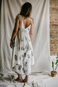 Breezy Jumpsuit - deep blue/sage