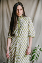 Load image into Gallery viewer, Regal Tunic - yellow/sage