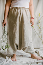 Load image into Gallery viewer, Harem Skirt Pants - linen
