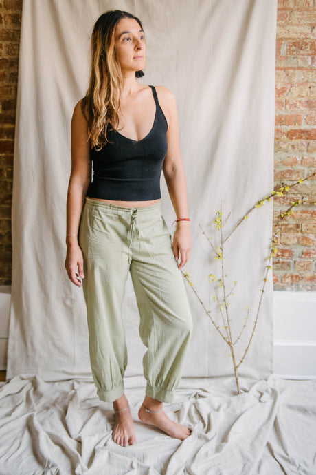 Yogi Ankle Pants - sage
