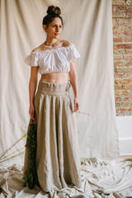 Load image into Gallery viewer, Panel Skirt - linen