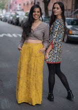 Load image into Gallery viewer, Mustard Skirt Trousers