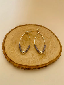 Sterling Silver Arch Earrings