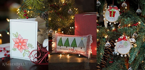Kimberbell Tis the Season Embroidery Class - In Store
