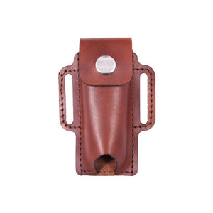Trappers Knife Holster with Flap - Medium