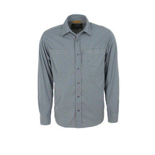 Trappers Technical Long Sleeve Check Shirt