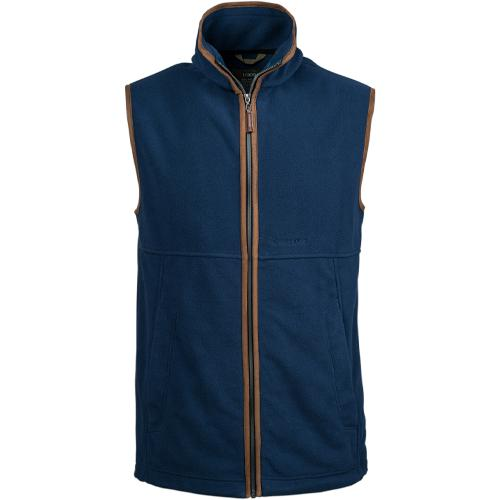 Trappers Leather Trim Fleece Bodywarmer