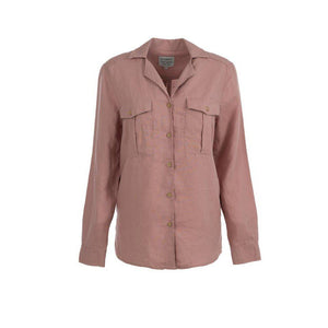Trappers Ladies Linen Safari Shirt