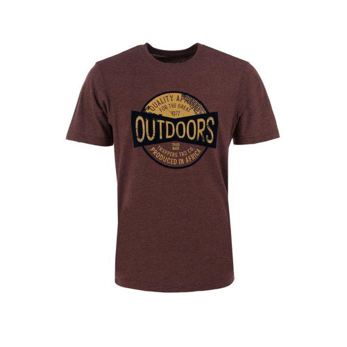 Trappers Outdoor Heritage Print Tee