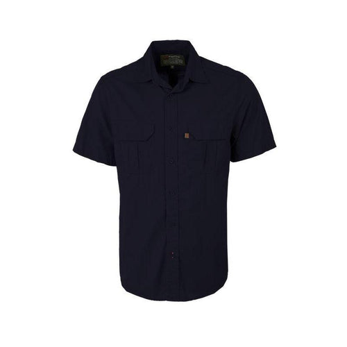 Trappers Double Pocket Twill Short Sleeve Shirt