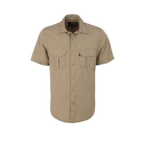 Trappers Double Pocket Vented Short Sleeve Shirt