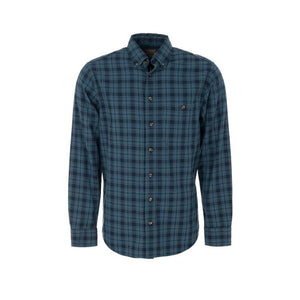 Trappers Long Sleeve Herringbone Check Shirt