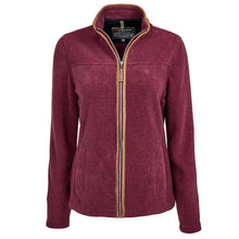 Load image into Gallery viewer, Trappers Ladies Suede Trim Fleece Jacket