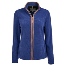 Trappers Ladies Suede Trim Fleece Jacket