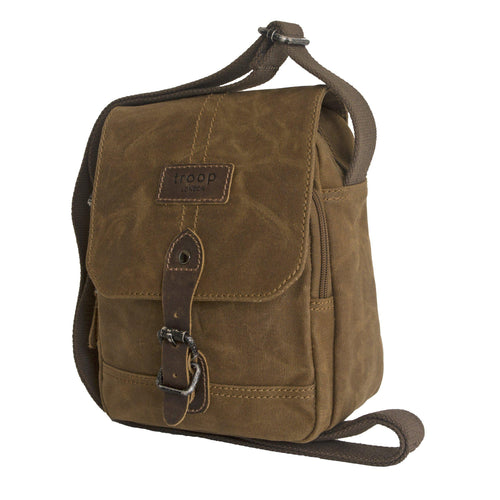 Troop Heavy Wax Shoulder Bag Small