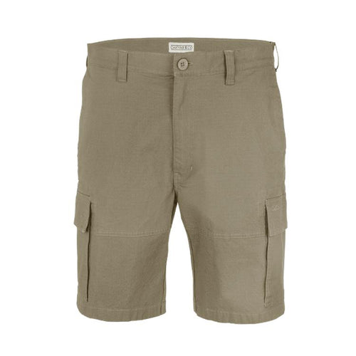 Canvas & Co 24cm Ripstop Stretch Cargo Shorts - Trappers