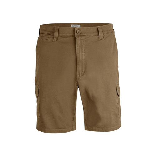 Canvas & Co 24cm Stretch Cargo Shorts - Trappers