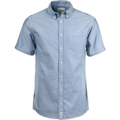 Canvas & Co Short Sleeve Oxford Shirt - Trappers