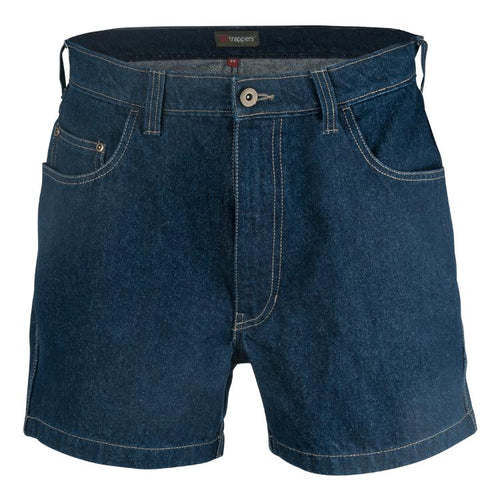 Trappers 11cm Denim 5 Pocket Short - Trappers